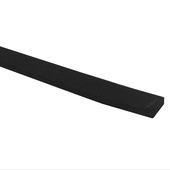GAMMA tochtband universeel PVC zwart 3 meter 2 stuks