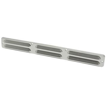 IVC Air schoepenrooster aluminium brut 37x4 cm
