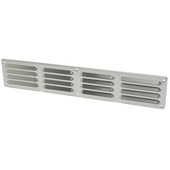 IVC Air schoepenrooster aluminium zilver 49,5x9 cm