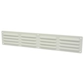 IVC Air schoepenrooster aluminium wit 49,5x9 cm