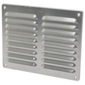 IVC Air schoepenrooster aluminium brut 24,5x19,5 cm