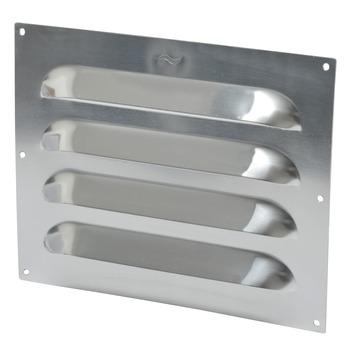 IVC Air schoepenrooster aluminium extra zwaar 25x20 cm