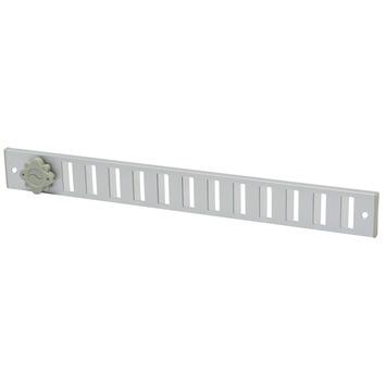 IVC Air afsluitbaar schuifrooster aluminium geanodiseerd 37x4 cm