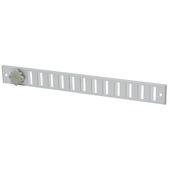 IVC Air schuifrooster aluminium geanodiseerd 37x4 cm