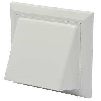 IVC Air overdrukrooster met kap ABS wit Ø 100-125 mm