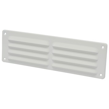 IVC Air Schoepenrooster aluminium wit 30x9 cm