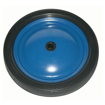 Wiel PVC met velg Ø 180 mm max. 20 kg blauw