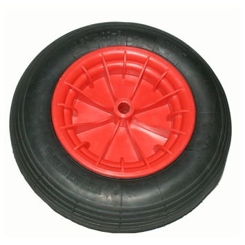 Luchtband met velg 400 mm as 20 mm maximaal 200 kg