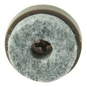GAMMA viltglijder met schroef bruin 20 mm 24 stuks