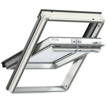 Velux tuimelvenster HR++ glas wit afgelakt CK04 55x98 cm
