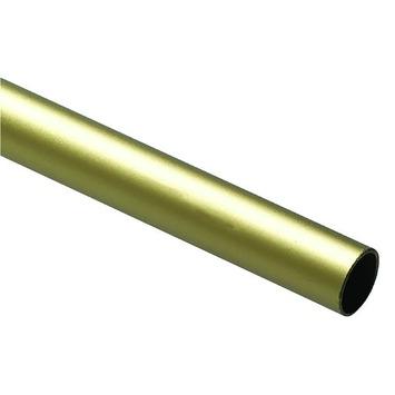 Intensions roede 12,7 mm aluminium champagne 100 cm
