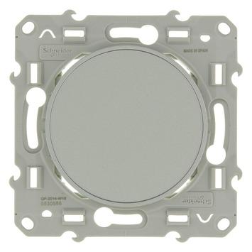 Schneider Electric Odace blindplaat aluminium
