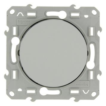 Schneider Electric Odace kruisschakelaar aluminium