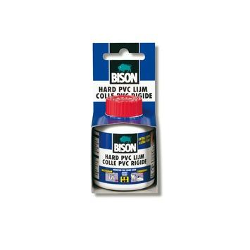 Bison  hard PVC lijm met kwastje 100 ml