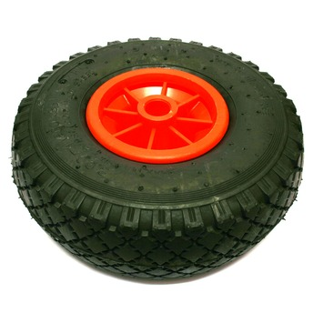 Luchtband met velg 260 mm as 20 mm maximaal 150 kg