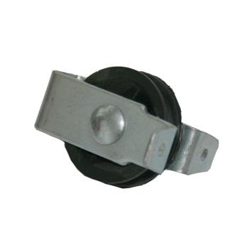 katrol staand polypropyleen wiel 40 mm