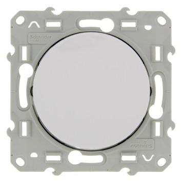 Schneider Electric Odace kruisschakelaar wit