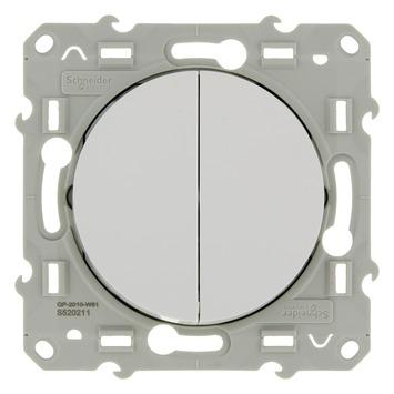 Schneider Electric Odace serieschakelaar wit