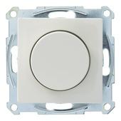 Schneider Electric System-M dimmerknop met plaat wit