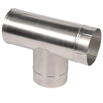 T-stuk aluminium 100x100x100 mm