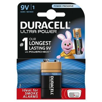 Duracell Ultra Power Duralock batterij 9V 1 stuk