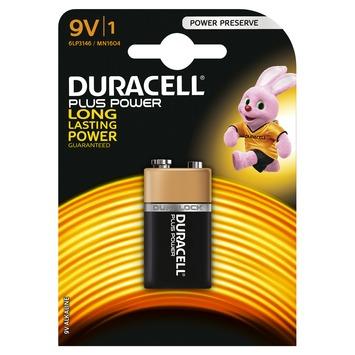 Duracell Plus Power Duralock batterij 9V 1 stuk