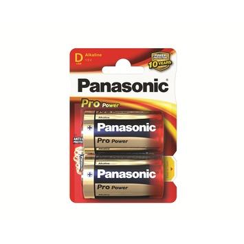 Panasonic Pro Power batterij D 2 stuks
