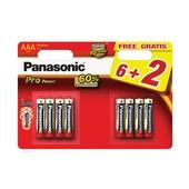 Panasonic Pro Power batterij AAA 8 stuks
