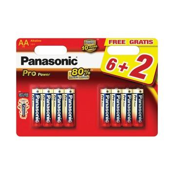 Panasonic Pro Power batterij AA 8 stuks