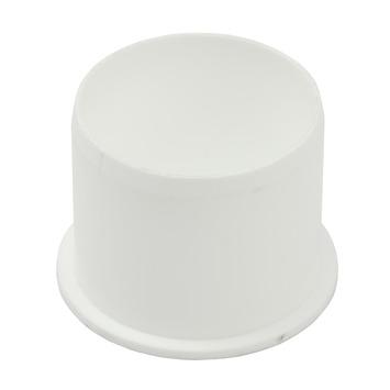 Einddop PPC wit 40 mm