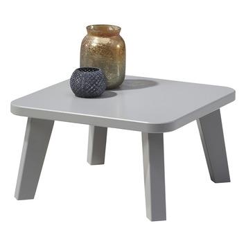 Chicago bijzettafel grenen grijs 26,5x50x50 cm