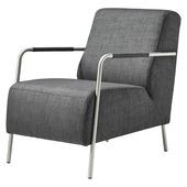 Dani fauteuil charcoal grijs 78x85x60 cm