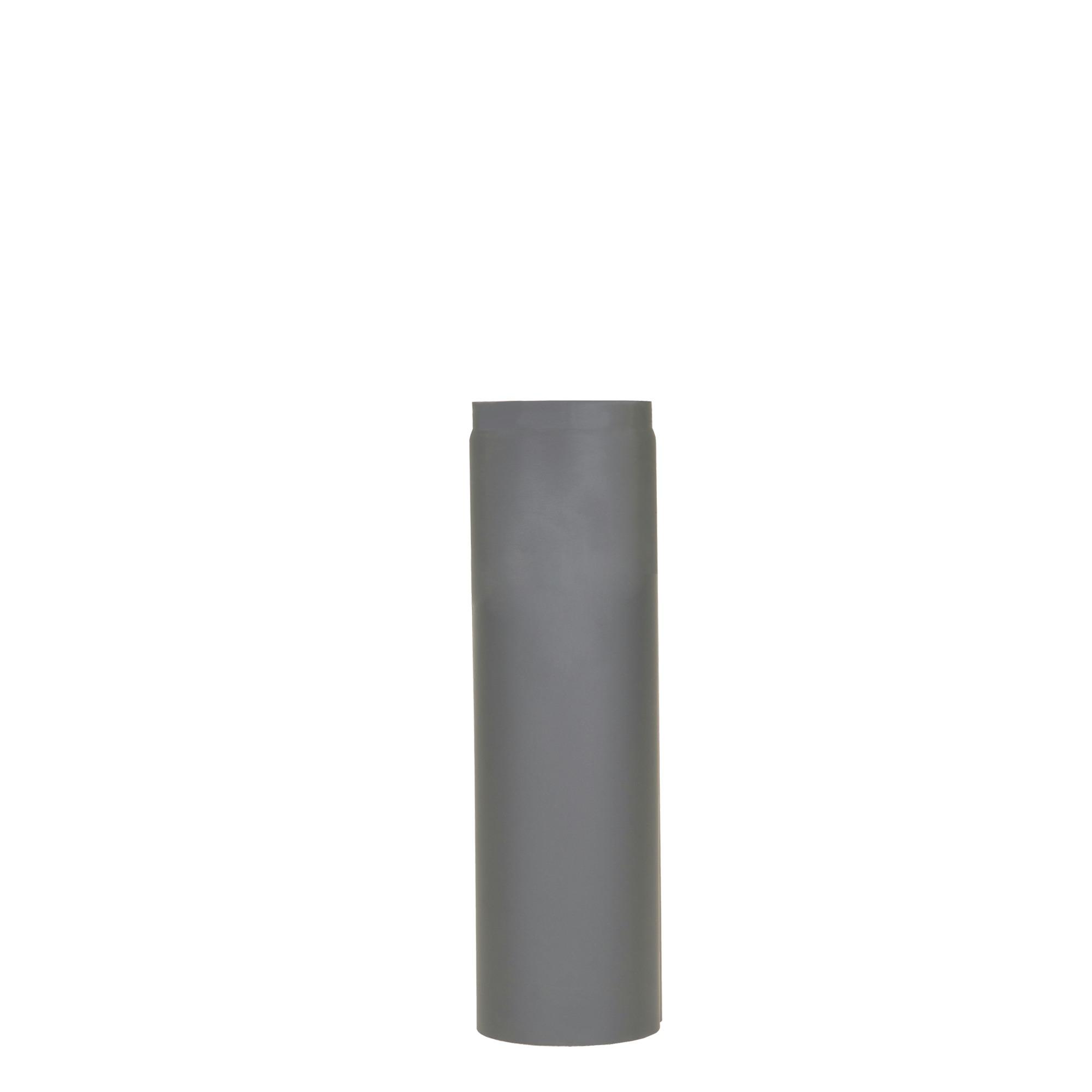 Livinflame kachelpijp enkelwandige recht 50 cm Ø 150 mm