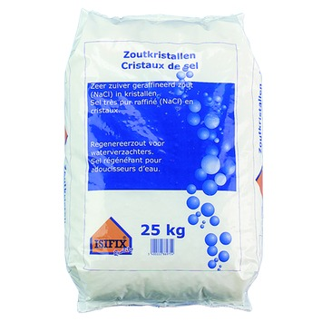 Isifix Zout voor Waterontharder 25 kg