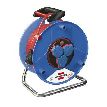 Brennenstuhl Garant Bretec IP44 kabelhaspel blauw/rood 50 meter