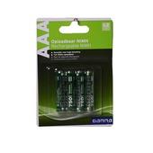 GAMMA herlaadbare batterij AAA 4 stuks
