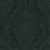 Vliesbehang Medaillon zwart 4039-95