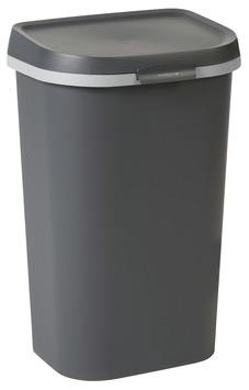 Prullenbak 50 L Aanbieding.Allibert Afvalbak Mistral Flat Antraciet 50 Liter