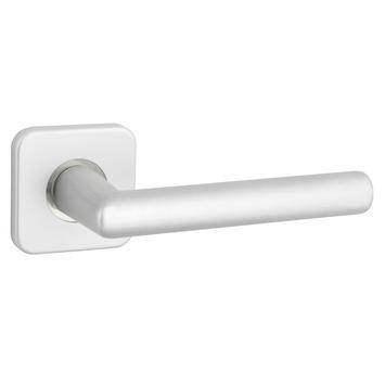 GAMMA deurkrukset Berlijn vierkant rozet aluminium