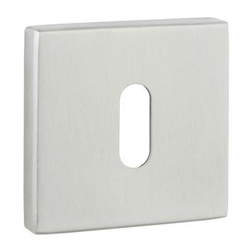 GAMMA sleutelplaat vierkant RVS 2 stuks
