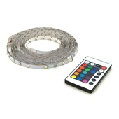 LED strip multicolour met afstandsbediening 5 meter (IP 20)