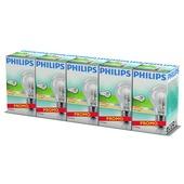Philips EcoClassic halogeenlamp E27 42W 5 stuks