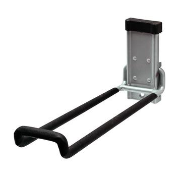 Duraline track haak ladder mat zilver