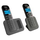 AEG Voxtel telefoon D500 Twinset zwart