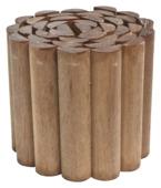 Rolborder hardhout 180x20 cm