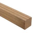 Tuinpaal hardhout met punt 180x6,5x6,5 cm