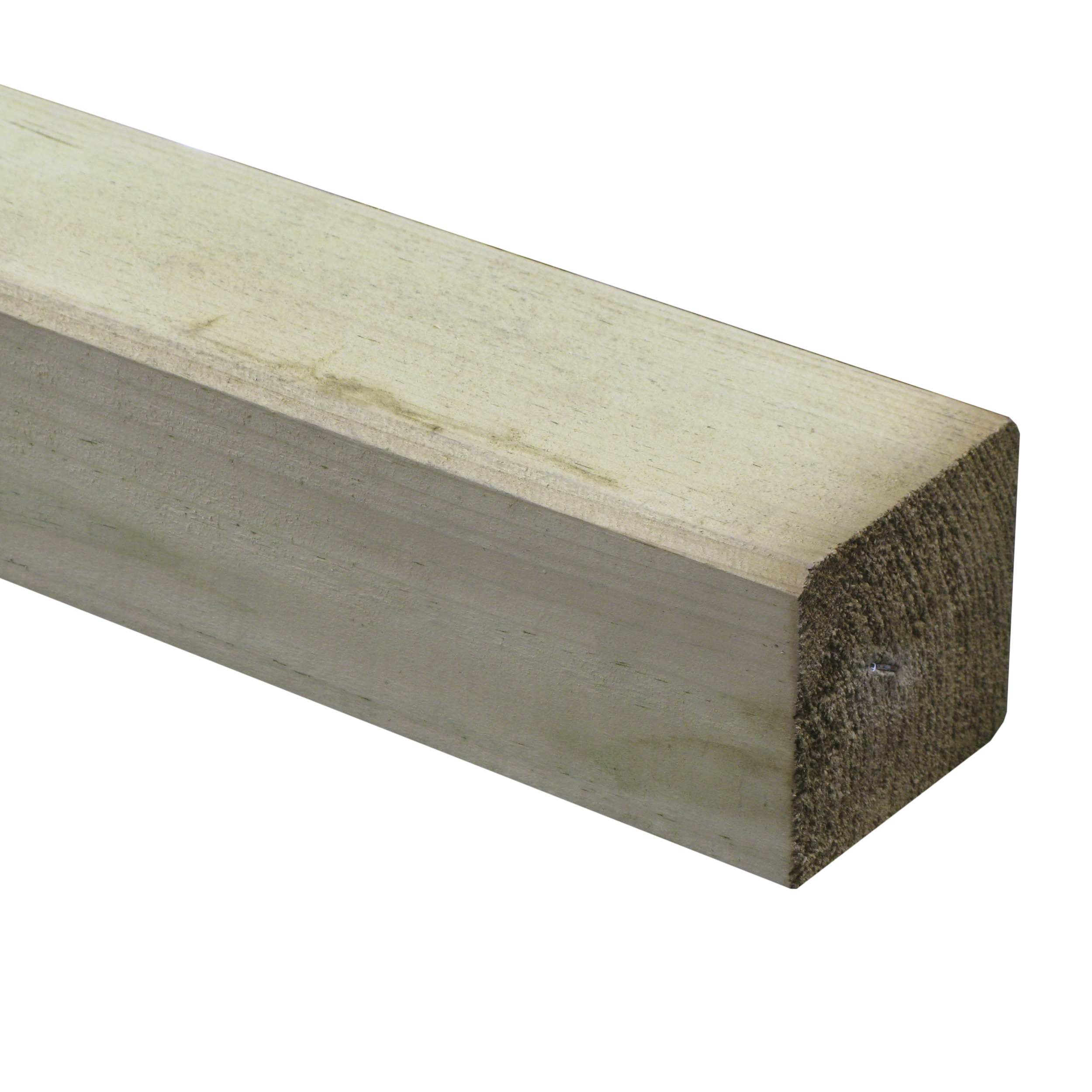Tuinpaal geimpregneerd 8,8x8,8 cm, lengte 180 cm