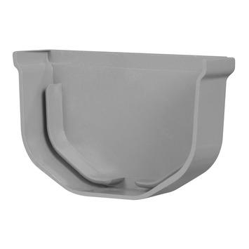 Martens eindstuk t.b.v. minigoot grijs 65 mm