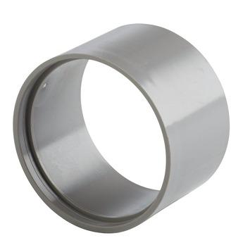 Martens verloopstuk PVC grijs 1x lijmverbinding 70x75 mm
