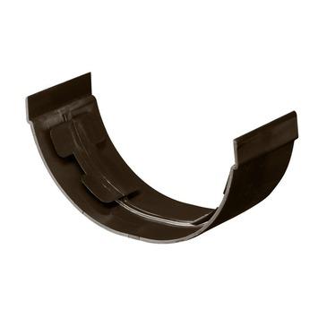 Martens verbindingsstuk mastgoot bruin 100 mm